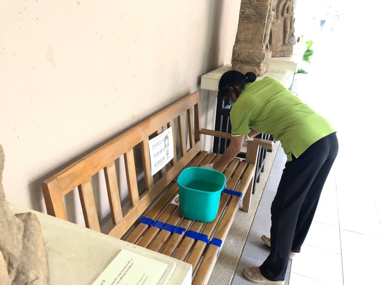 กิจกรรม   Big Cleaning Day   ประจำวันอาทิตย์ที่ ๑๘ เมษายน พ.ศ. ๒๕๖๔