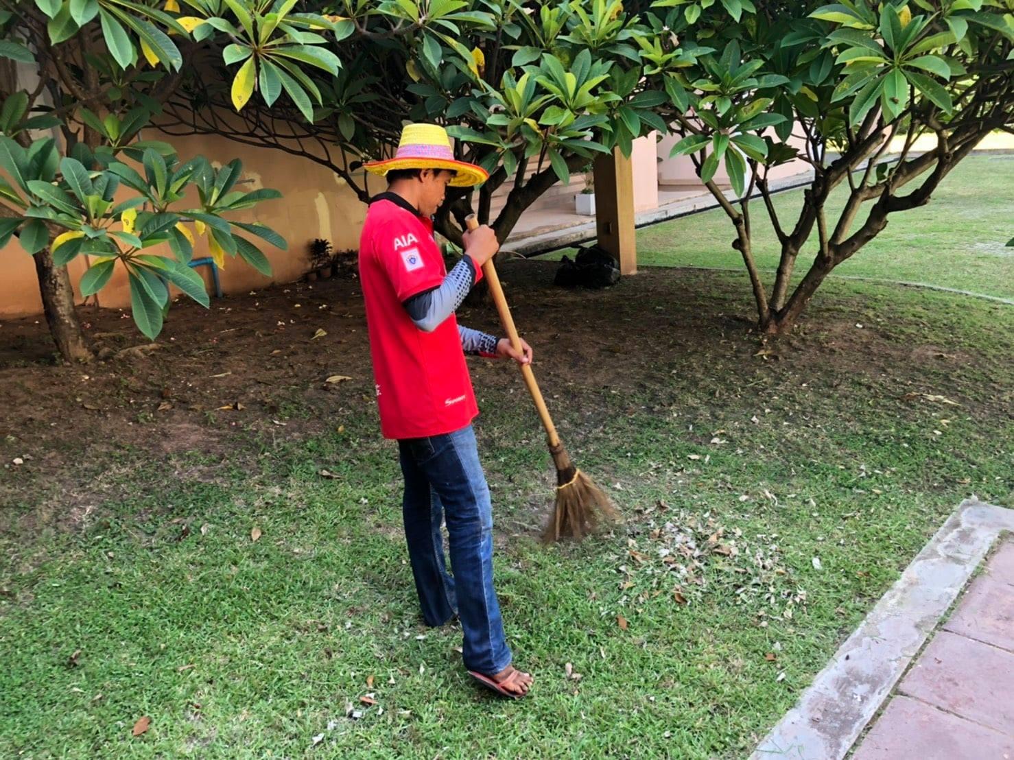 กิจกรรม   Cleaning Day   ประจำวันอาทิตย์ที่ ๒๐ มิถุนายน พ.ศ. ๒๕๖๔