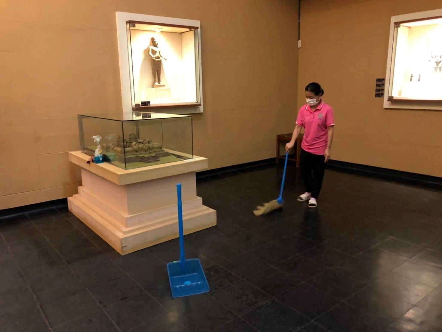 กิจกรรม   Cleaning Day   ประจำวันอาทิตย์ที่ ๒๗ มิถุนายน พ.ศ. ๒๕๖๔
