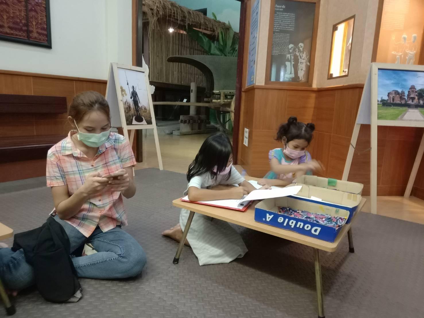 โครงการกิจกรรมเชิงปฏิบัติการแหล่งเรียนรู้ศิลปวัฒนธรรม ระหว่างวันที่ ๑๖ - ๒๐  มิถุนายน ๒๕๖๔