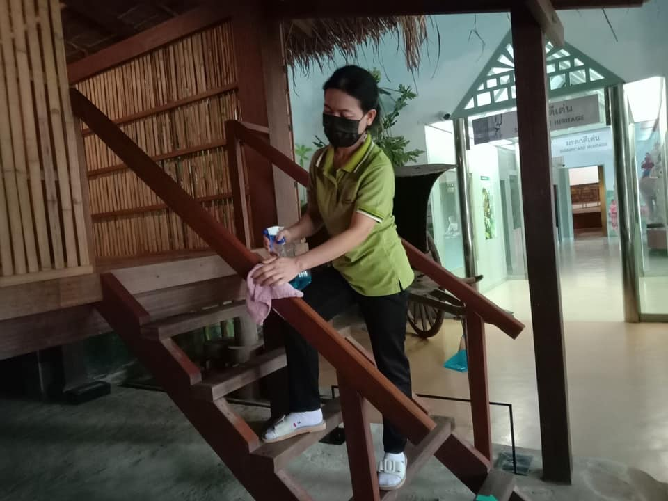 กิจกรรม   Cleaning Day   ประจำวันอาทิตย์ที่ ๑๕ สิงหาคม พ.ศ. ๒๕๖๔
