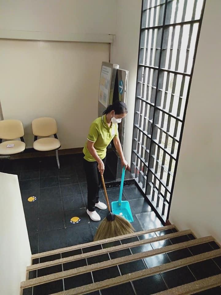 กิจกรรม   Cleaning Day   ประจำวันอาทิตย์ที่ ๒๙ สิงหาคม พ.ศ. ๒๕๖๔