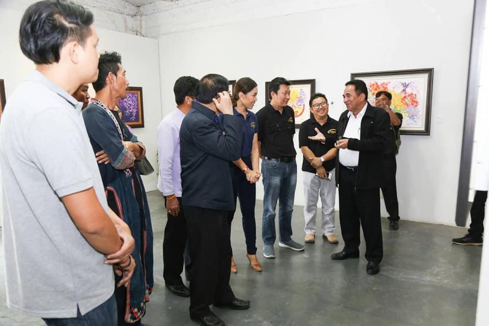 เยี่ยมชมและติดตามความคืบหน้าการพัฒนาศักยภาพขัวศิลปะเป็นแหล่งเรียนรู้และแหล่งท่องเที่ยวทางศิลปวัฒนธรรมร่วมสมัย ตามโครงการพัฒนาศักยภาพชุมชนสู่การเป็นเมือง ศิลปะ (เชียงรายเมืองศิลปะ)