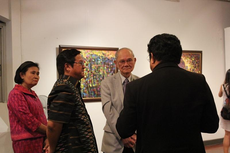 นิทรรศการศิลปะ ภาพสะท้อนตัวตน ศ.สุชาติ เถาทอง ในโอกาสเกษียณอายุราชการครบ 65 ปี