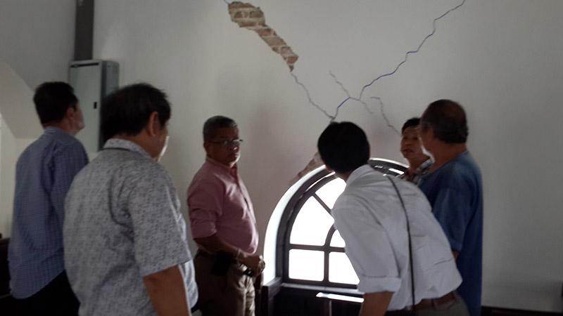 อธิบดีกรมศิลปากรลงพื้นที่ตรวจสอบโบราณสถานที่ได้รับผลกระทบจากเหตุแผ่นดินไหว