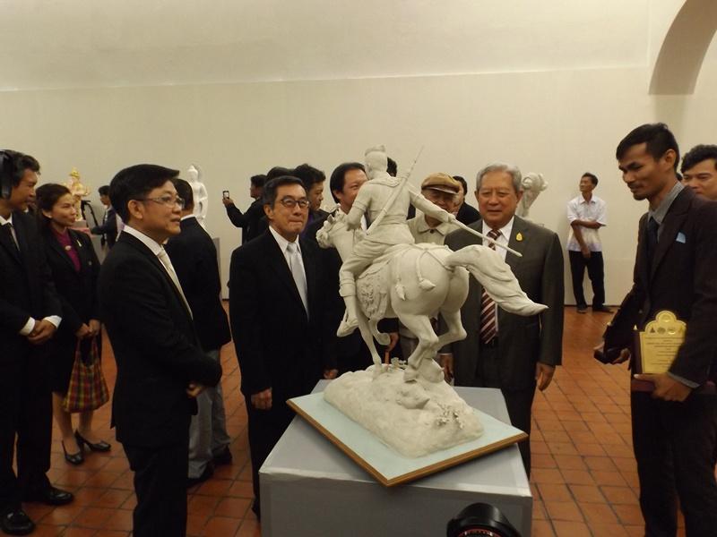 นิทรรศการศิลปะปูนปั้นแห่งประเทศไทย ครั้งที่ ๑๕