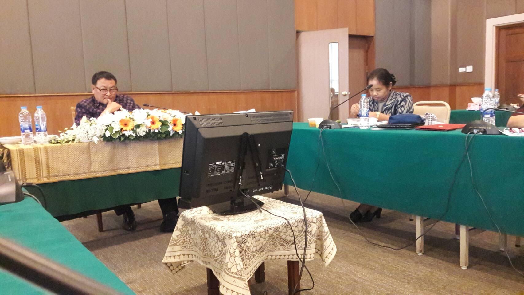 ผู้อำนวยการหอสมุดแห่งชาติรัชมังคลาภิเษก เชียงใหม่ เข้าร่วมโครงการประชุมวิชาการหอสมุดแห่งชาติ ประจำปี ๒๕๖๓