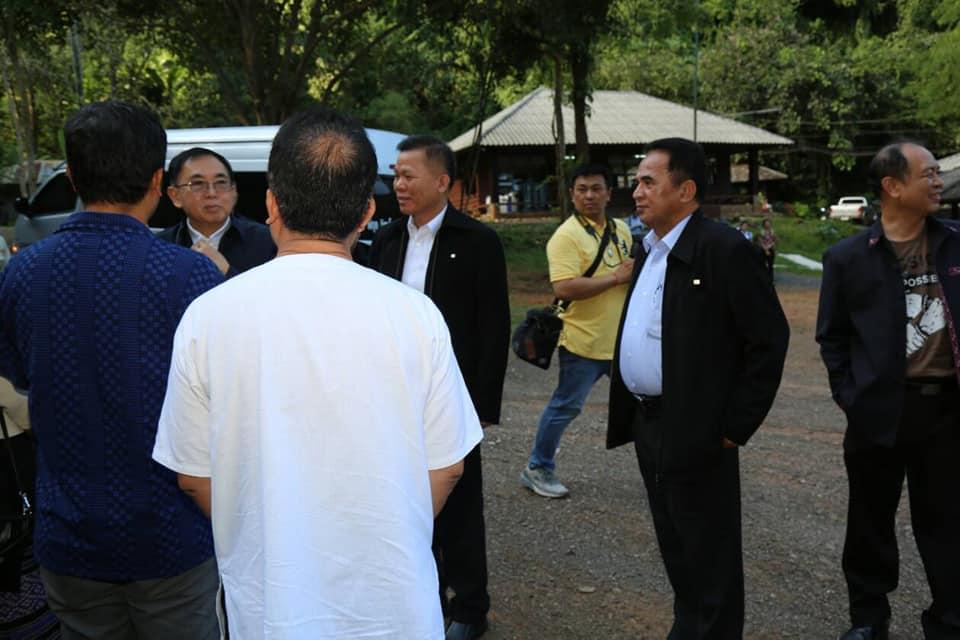 รัฐมนตรีว่าการกระทรวงวัฒนธรรม เยี่ยมชมและติดตามความคืบหน้าการพัฒนาศักยภาพวนอุทยานถ้ำหลวง-ขุนน้ำนางนอนและแนวทางการนำข้อมูลจดหมายเหตุกรณีถ้ำหลวงมาใช้ในการส่งเสริมการท่องเที่ยวเชิงนิเวศและวัฒนธรรม