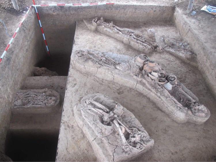 ความคืบหน้าการดำเนินงานขุดค้นทางโบราณคดี แหล่งโบราณคดีสีบัวทอง อ.แสวงหา จ.อ่างทอง
