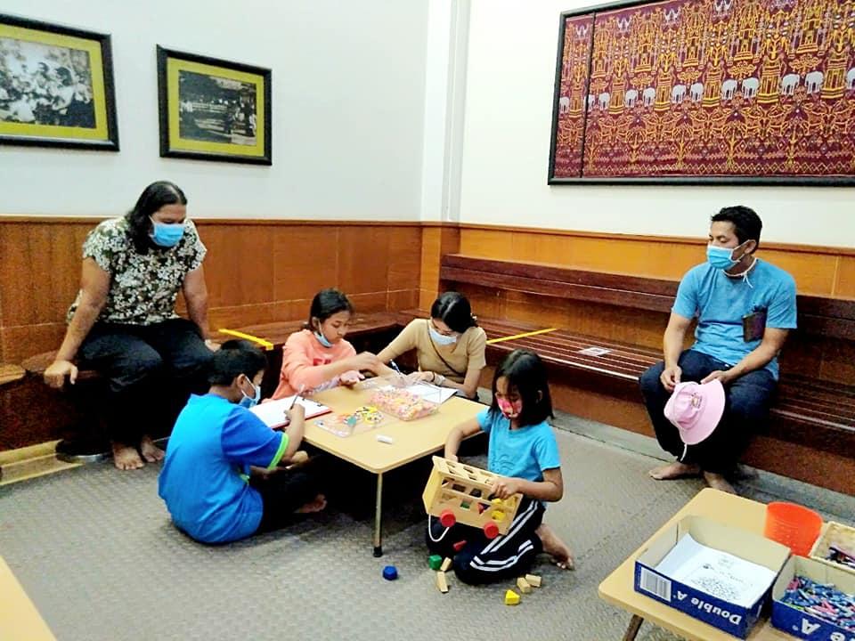 โครงการกิจกรรมเชิงปฏิบัติการแหล่งเรียนรู้ศิลปวัฒนธรรม ระหว่างวันที่ ๓๐ ธันวาคม ๒๕๖๓ - ๓ มกราคม ๒๕๖๔