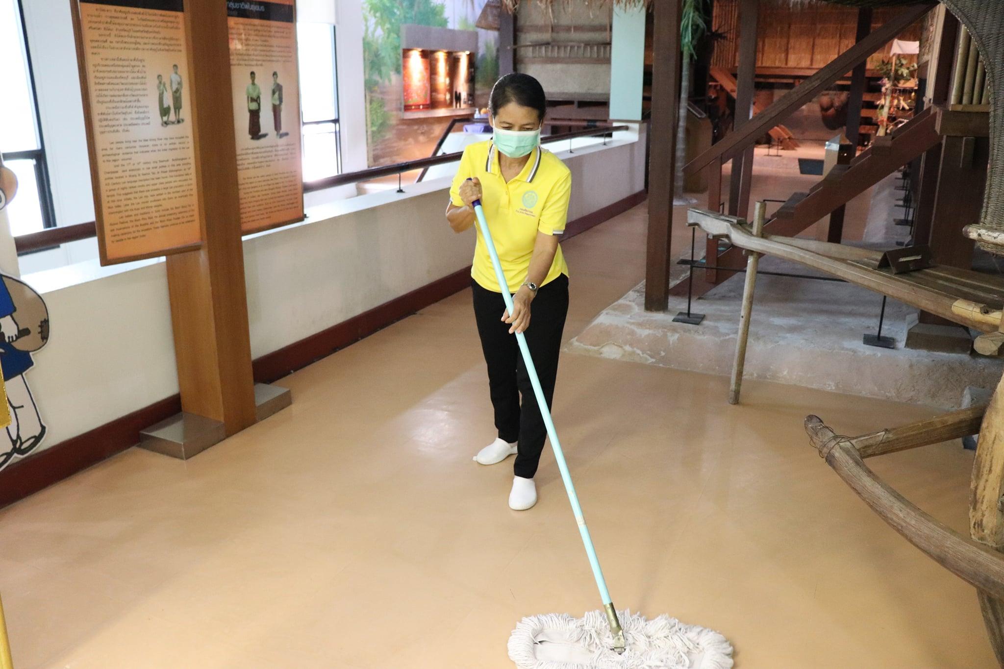 กิจกรรม   Big Cleaning Day   ประจำวันอาทิตย์ที่ ๑๔ กุมภาพันธ์ พ.ศ. ๒๕๖๔